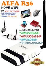 Alfa R36 Portable WiFi Wireless N Router for AWUS036NH/NHR,  G Extender/3G Modem