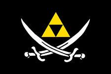 Super Nintendo Snes N64 Legend of Zelda Game TRI FORCE LOGO Fridge Magnet #21
