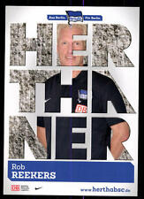 Rob Reekers Autogrammkarte Hertha BSC Berlin 2013-14 Orig Sign+A 115629