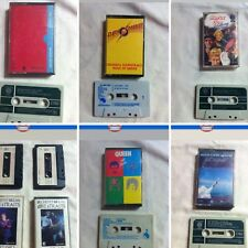 collection audio cassette x 7