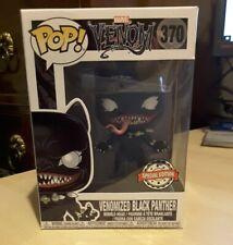 FUNKO POP - Venomized Black Panther #370 - Marvel Venom - Brand New