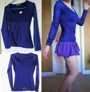 NWT Adidas Stella McCartney Training Tennis Long Sleeve Shirt Top XS S Small