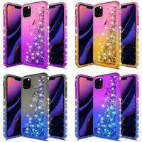 Glitter Liquid Shockproof Quicksand Case Cover for iPhone 11 Pro Max XS 8 7 Plus