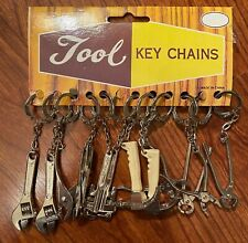 Novelty Metal Working TOOL Key Chains - Retail Display of 12