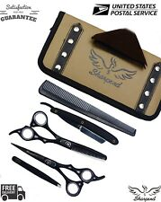 "Professional Hair Cutting Japanese Scissors Barber Stylist Salon Shears 6.5""/KIT"