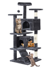 CAT PLAY TREE TOWER CONDO FURNITURE HOUSE POST PET KITTY SCRATCHING BED