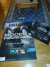 """(3 Piece Lot) Call Of Duty Modern Warfare Promotional Display Posters 48""""×33"""""""