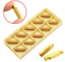 10pcs MGMN300-M Carbide Inserts 3mm Width for MGEHR/MGIVR Grooving Cut Off Tool