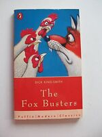 THE FOX BUSTERS Dick King-Smith PB1998 PUFFIN **GC**