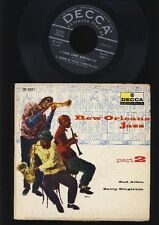 Red Allen - Zutty Singleton -  New Orleans Jazz Part 2 -  EP 7 inch Vinyl - USA