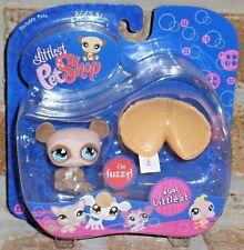 Littlest Pet Shop fuzzy PANDA BEAR 645 fortune cookie HTF 2007