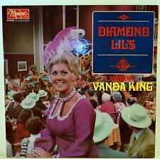 Album Vinyl Vanda King Diamond Lil's Monique Records  MS 69002