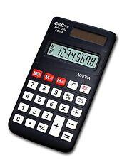 Aurora EC240 calculator - calculators Pocket, Solar, Basic calculator, Black