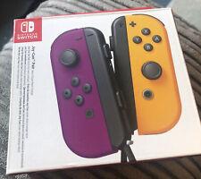 Nintendo Switch Joy Con Pair Purple & Yellow (purple Used For 2 Days Yellow New)