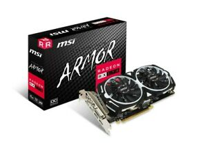 RX 570 4GB MSI Armor OC Edition Graphics Video Card (RX 570 ARMOR 4G OC)