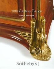 Sotheby's /// 20th C. Art Deco Design & Nouveau Auction Catalog March 2008