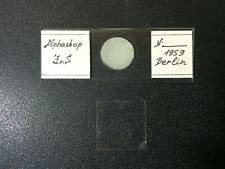 Alphaskop. Spinthariscope slide