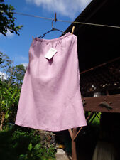 NWT FLAX M Orchid Swinging Gatsby Skirt fr 2012 Spring purple pink linen