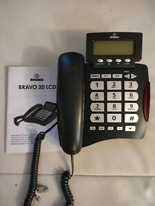 Landline Brondi Bravo 20 LCD For Seniors Speakerphone With Buttons Large