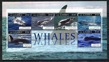Gambie 2012 baleines feuillet n° 5224 à 5229 neuf ** 1er choix