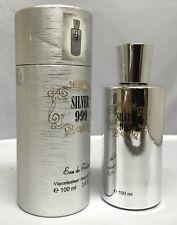 SAFFRON LONDON SILVER 999 EAU DE TOILETTE PERFUME SPRAY FOR MEN BOYS HIM 100ML