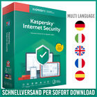 Kaspersky Internet Security 2021 | 1PC, 3PC, 5PC, 10PC | 1 Jahr, 2 Jahre <br/> 24h-Kunden-Support✔ Rechnung✔ DE-Händler✔ Anleitung✔