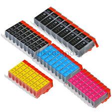 40x XL PATRONE MIT CHIP für CANON PIXMA IP3600 4600 IP4700MP550MP540MP560 MX870