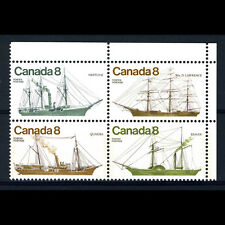 CANADA 1975 Ships. SG 818-821. Mint Never Hinged. (BH359)