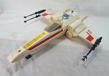 Vintage Star Wars X-WING FIGHTER Vehicle 100% Complete aftermarket Decals white