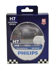 Philips Racing Vision +150% H7 Scheinwerferlampe, Doppelset (1297RVS2)