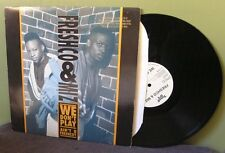 "Freshco & DJ Miz ""We Don't Play"" 12"" OOP Orig Jay-Z EPMD Digital Underground"