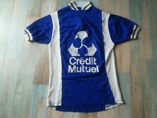 MAILLOT VELO CYCLISTE CREDIT MUTUEL ACRYLIQUE  TAILLE M/3 TBE