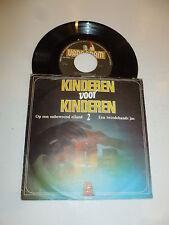 """KINDEREN VOOR KINDEREN 2 - Op een onbewood eiland - Dutch 7"""" Juke Box Single"""