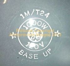 General Electric 22479 1M/T24 120V  1000W Light Bulb NeW! MINT! FabULoUs PERFECT