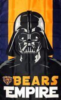 Chicago Bears NFL Bears Empire Flag 3x5 ft Banner Flag Man-Cave Garage Bar Pub