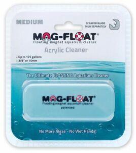 Mag Float Floating Magnetic Aquarium Cleaner - Acrylic Medium (130 Gallons)