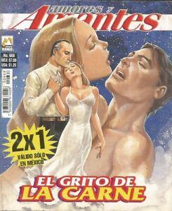 AMORES Y AMANTES MEXICAN COMIC #668 MEXICO SPANISH HISTORIETA 2007 ROMANCE