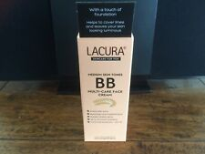 Lacura BB Medium Face Cream  UVA/UVB Protection - SPF 15 All Skin Types New
