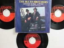 LOT OF 4 ' THE BLUES BROTHERS '/ ' ARETHA FRANKLIN ' HIT 45's+1PS THE 60's-80's!