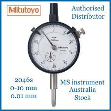 MITUTOYO,2046S,DIAL INDICATOR, 10MM