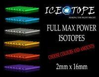 ICEATOPE 2MM X 16MM Isotopes GTLS Vial Trigalight Betalight BETALIGHTS CARP