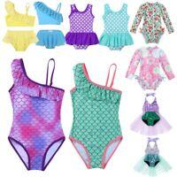 Toddler Baby Girls Kids Swimsuit Swimwear Bathing Suit Beachwear Tankini Costume