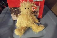FRIZZY THE BROWN BEAR  TY PUNKIES  RETIRED NEW 9 INCHES