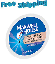 Maxwell House Vanilla Hazelnut COFFEE 192 Count Keurig K-Cups