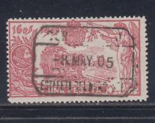 ESPAÑA (1905) USADO SPAIN - EDIFIL 264 (1 pts) EL QUIJOTE - LOTE 1