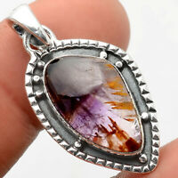 Cacoxenite Super Seven 7 Mineral 925 Sterling Silver Pendant Jewelry SDP63554