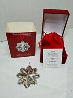 Reed & Barton Sterling Silver 3rd Edition 2019 Annual Star Christmas Ornament