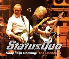 STATUS QUO - KEEP 'EM COMING! THE COLLECTION (MIT 34 HITS)  2 CD NEU