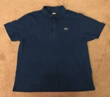 Lacoste Sport Polo T.Shirt Top Blue Size 6 Good Condition !