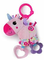Bright Starts SPARKLE N SHINE UNICORN Rattle Grasping Toy BN